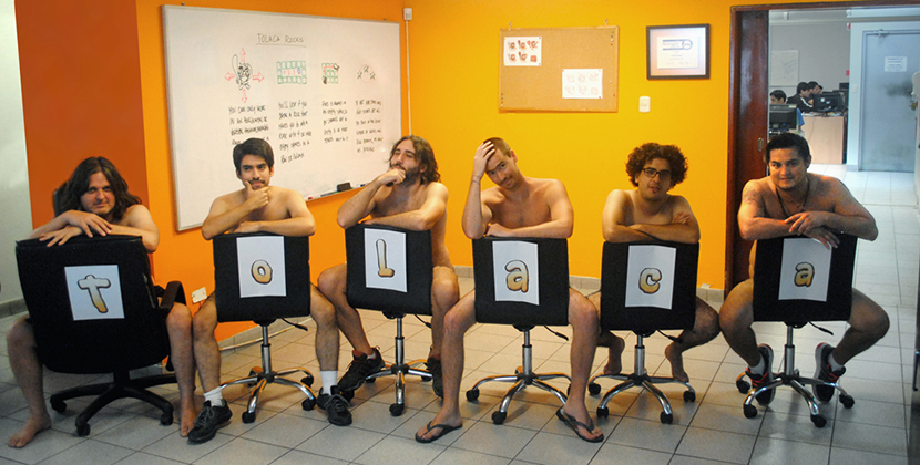 Out dev team bares all to launch Tolaca Rocks.